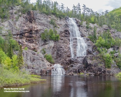 Breathtaking Bridal Veil Falls in spectacular Agawa Canyon Park. Photo Credit: Wendy Nordvik-Carr©