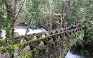 Top hikes near Metro Vancouver explore Whatcom Falls, Bellingham Washington. Photo Credit: Wendy Nordvik-Carr©