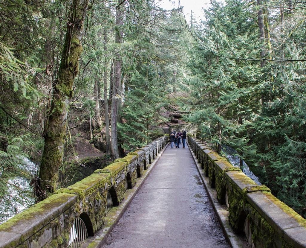 The stone bridge at Whatcom Falls Park: Photo Credit: Wendy Nordvik-Carr©