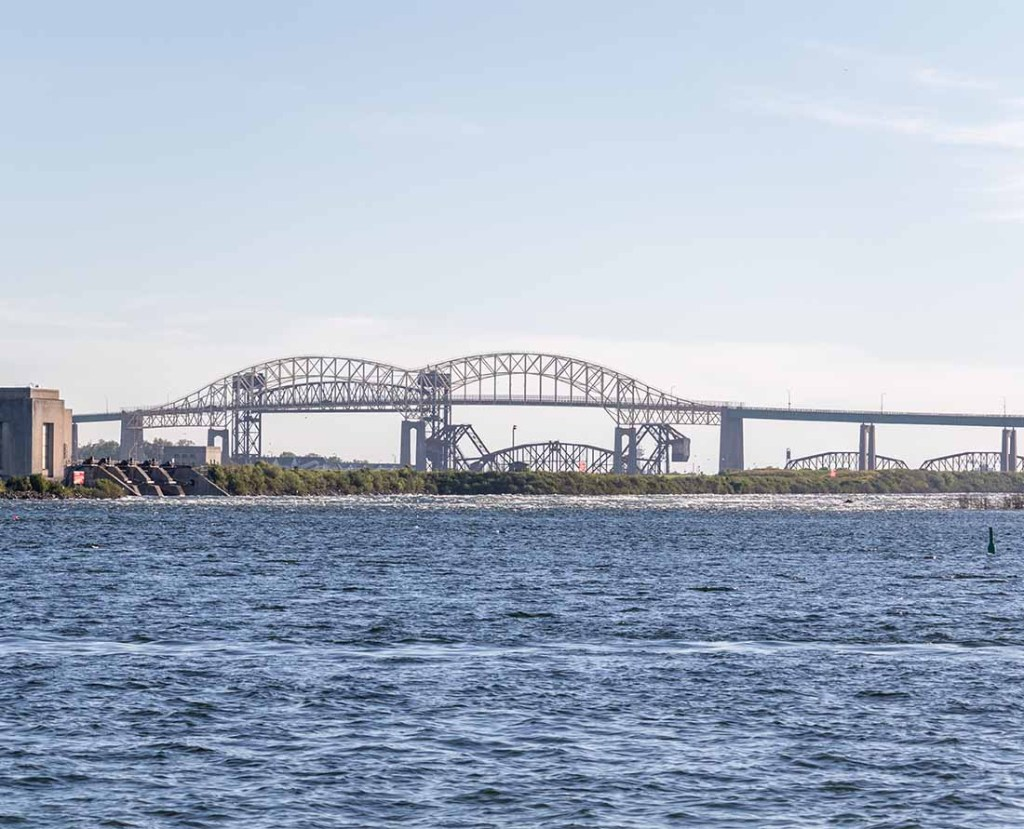The International Bridge is one of the top things to see in Sault Ste. Marie.