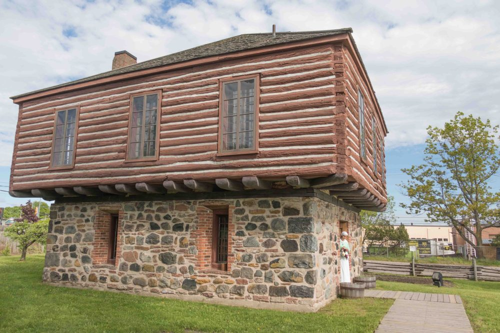 The Clergue Blockhouse is the second oldest building in Sault Ste. Marie.