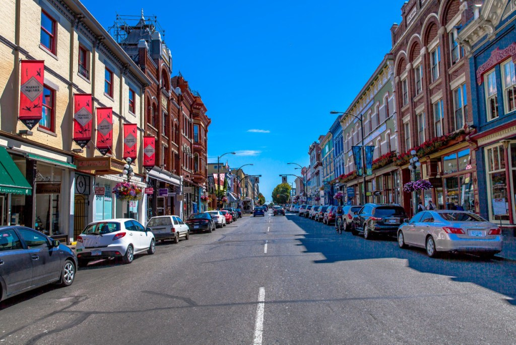 Victoria Heritage Buildings, Lower Johnson Street - Photo Credit: Brandon McGeachie©
