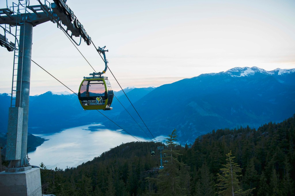 Top things to do near Vancouver - Aerial Summit Lodge - Sea to Sky Gondola opens. Photo Credit: Tara O'Grady