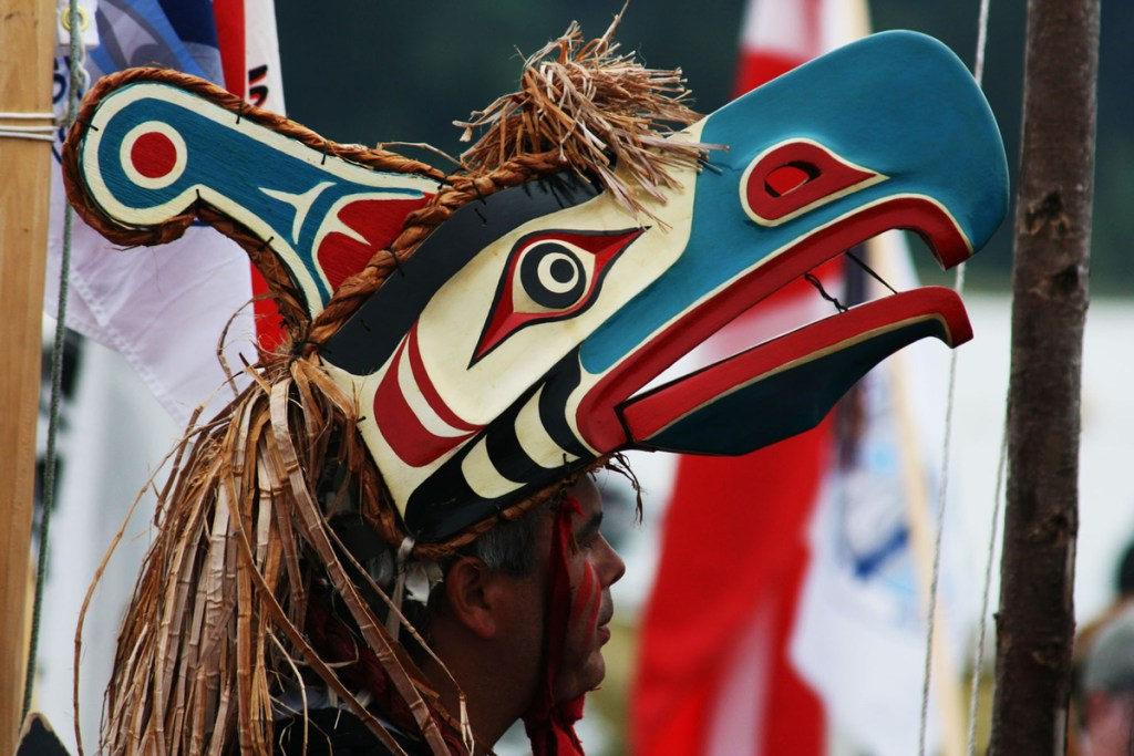 Top things to do from Victoria to Pacific Rim National Park stop for cultural experience - Cowichan Tribal Journey celebration. Photo Credit: Indigenous Tourism Association of BC