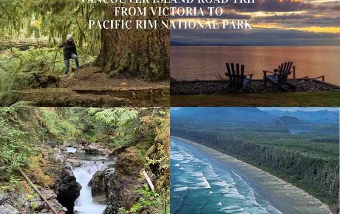 Vancouver Island Road Trip Victoria to Pacific Rim National Park Web