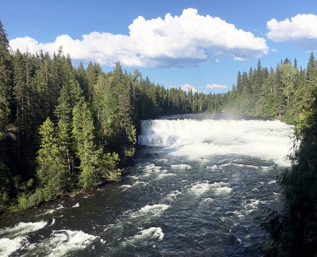 BC Travel Guide - Best waterfalls in BC. Dawson Falls Wells Gray Provincial Park. Photo Credit: Wendy Nordvik-Carr©