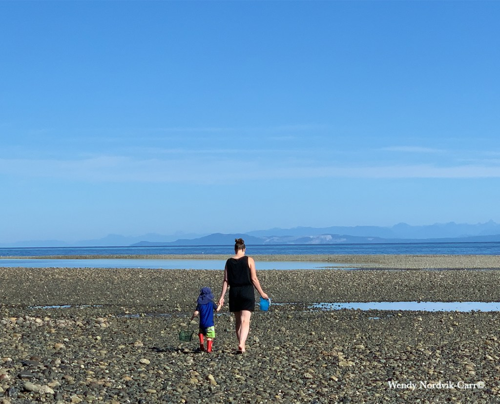 Top things to do on Vancouver Island best beaches Qualicum Beach Photo Credit: Wendy Nordvik-Carr©