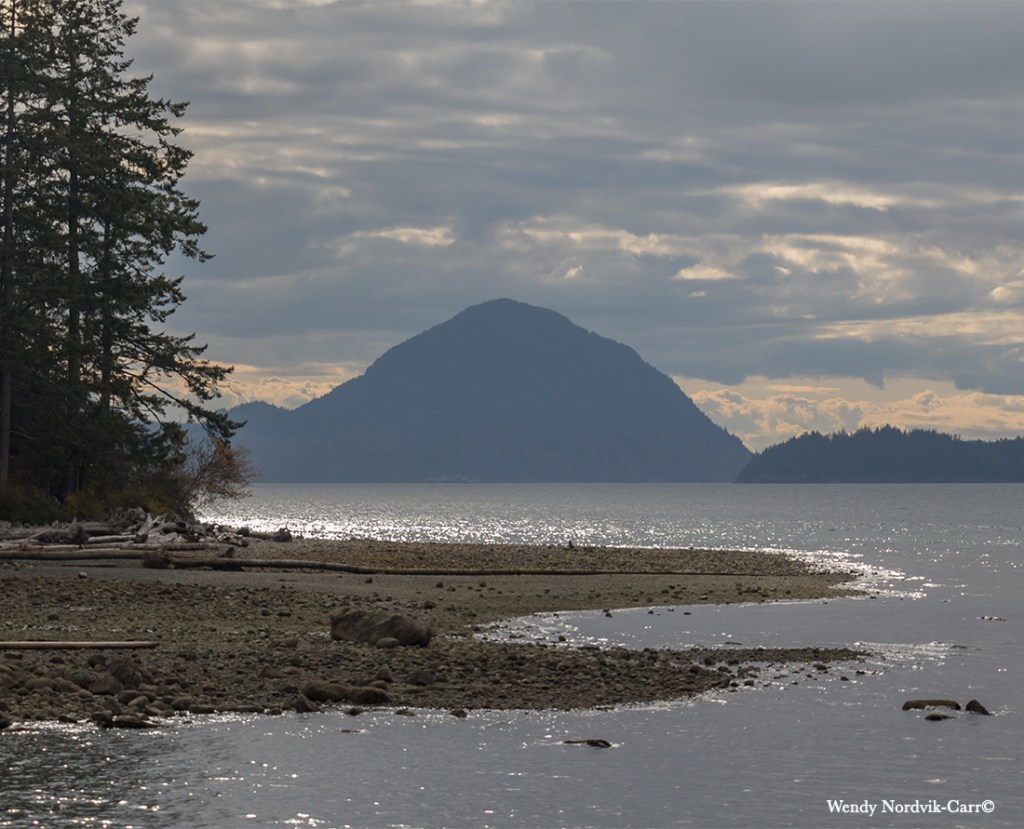 View from Porteau Cove is a popular scuba diving spot along the Sea-to-Sky Highway. Photo Credit: Wendy Nordvik-Carr©