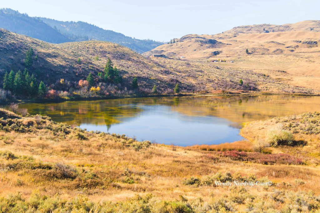 Sacred Spotted Lake near Osoyoos in the Similkameen Valley and Okanagan: Photo Credit: Wendy Nordvik-Carr©