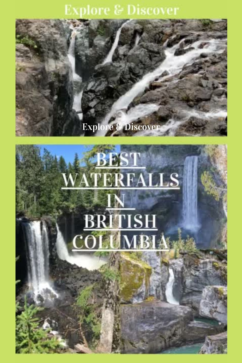 Discover 15 of the best waterfalls in BC