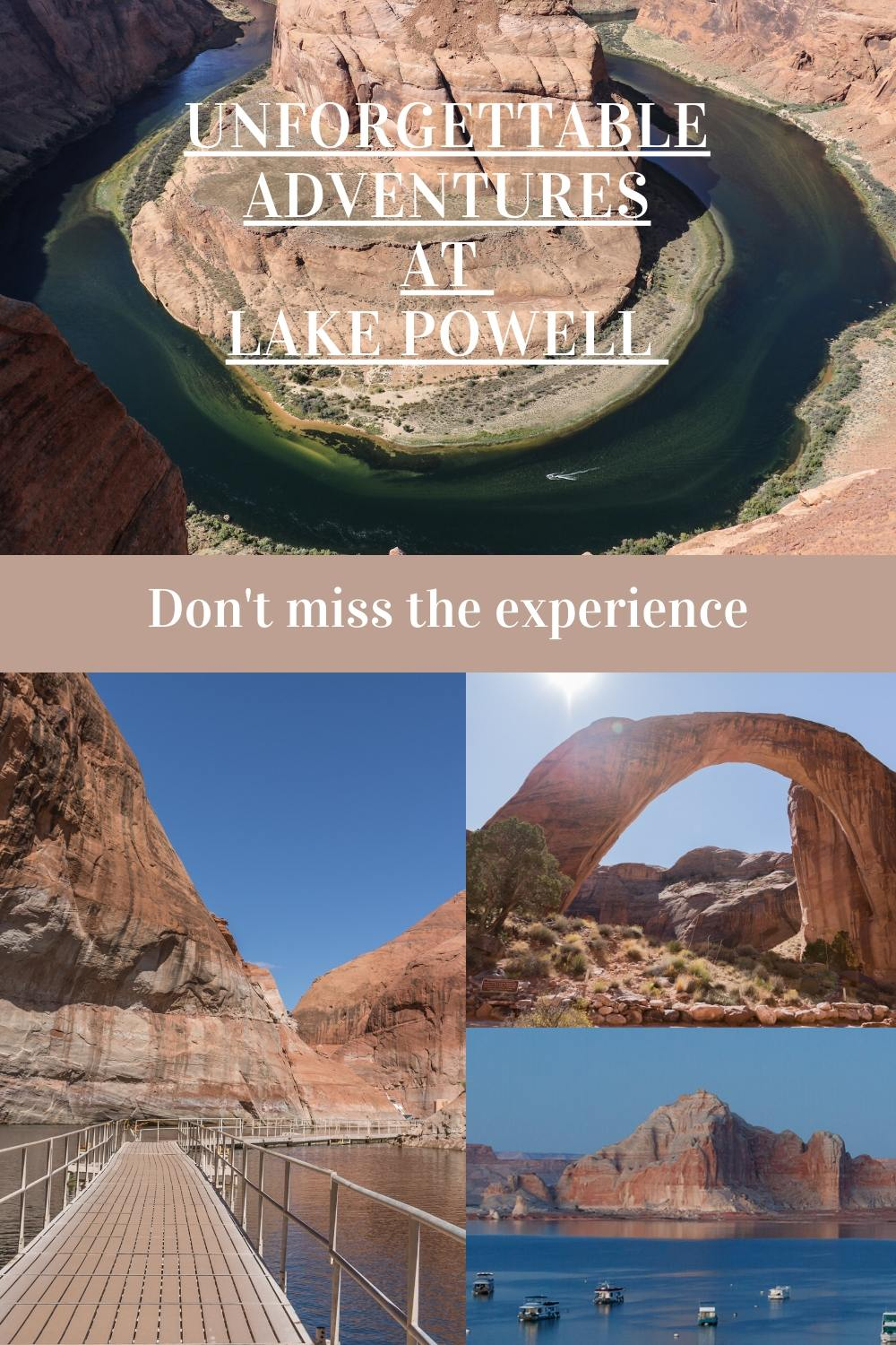 Unforgettable adventures - top things to do at Lake Powell
