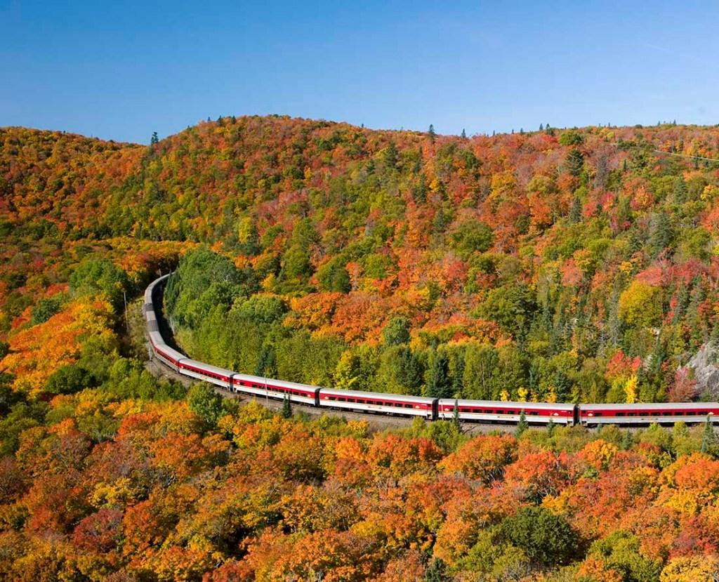 Top scenic drive in Ontario stunning fall colours Algoma