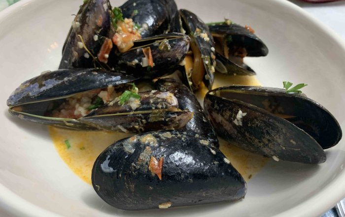 Recipe how to make Saltspring Island Mussels