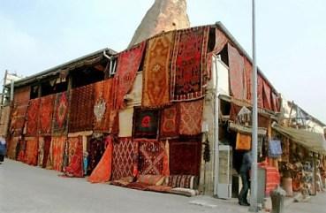 Rug shop, Cappadocia