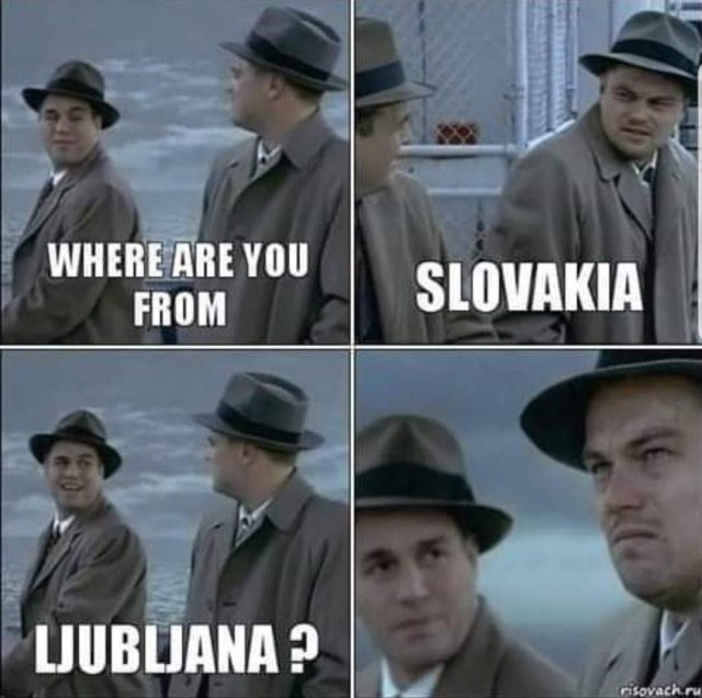 Where is the capital of Slovenia?