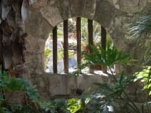 The Alamo interior courtyard