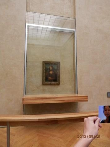 Mona Lisa in The Louve