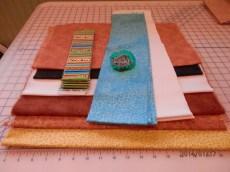 Fabrics for giraffe quilt