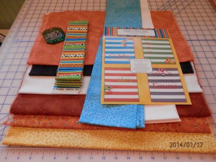 fabrics for giraffe quilt