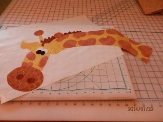 giraffe is all finished