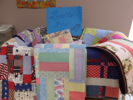 Quilts, quilts and more quilts