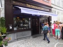 My favorite chocolate shop!
