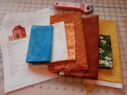 Planning my part of Loretta's quilt