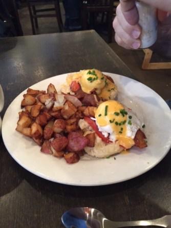 Ruby Slipper Cafe breakfast