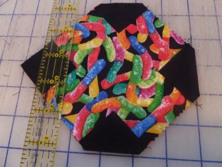 Gummy worm fabric