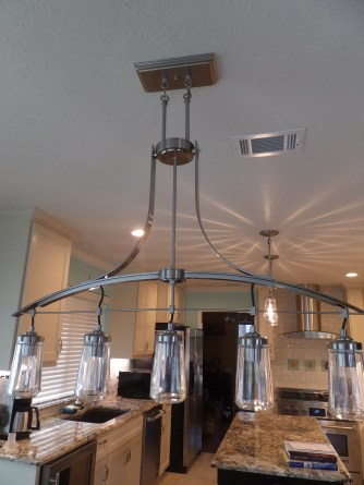 Breakfast room light fixture