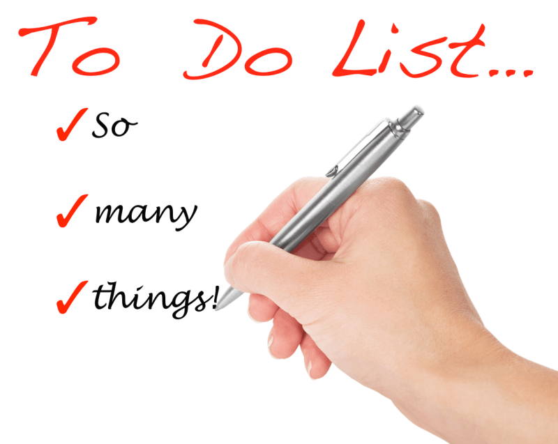 The Infinite To-Do List