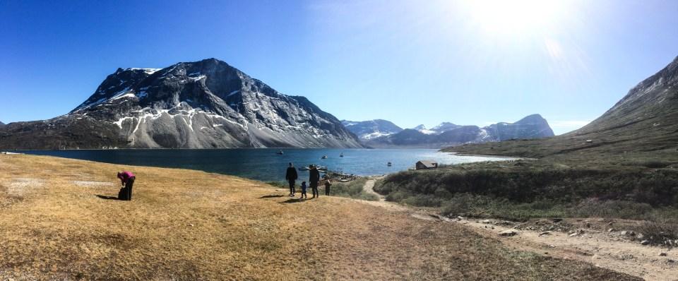 Randonnée dans les fjords de Nuuk