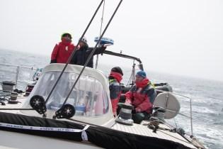 Les discussions sans fin lors d'une navigation au large de Terre-Neuve. Croisières au Canada.