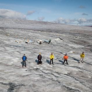Randonnée sur glacier