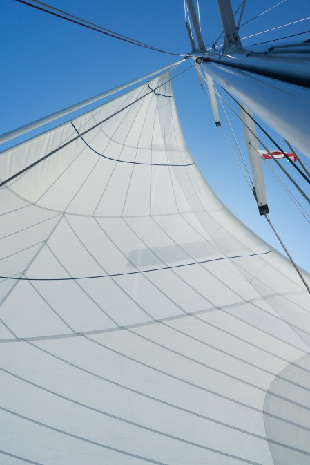 Voiles neuves et performantes