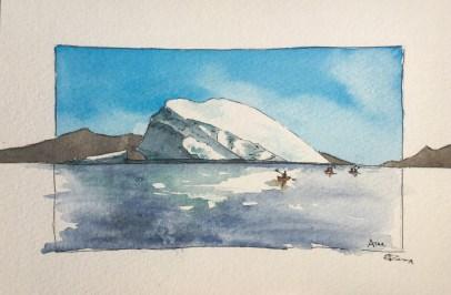 Groenland aquarelle 2019-2