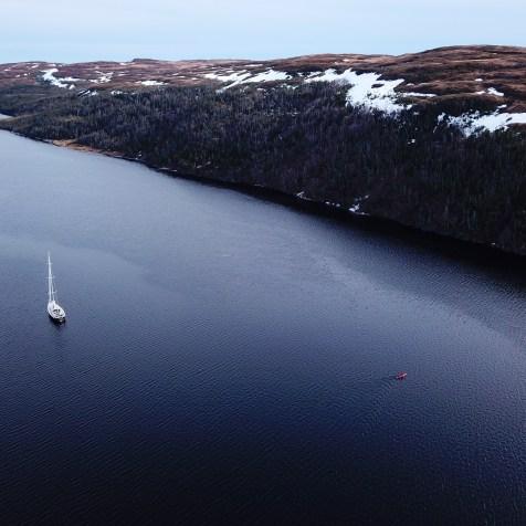 LifeSong et un petit kayak