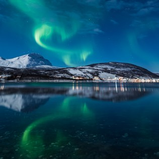 Aurores boréales, Norvège