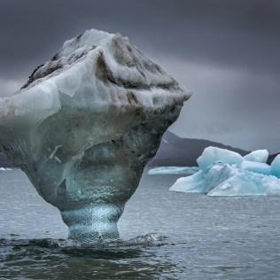 Icebergs, Svalbard, spitzberg