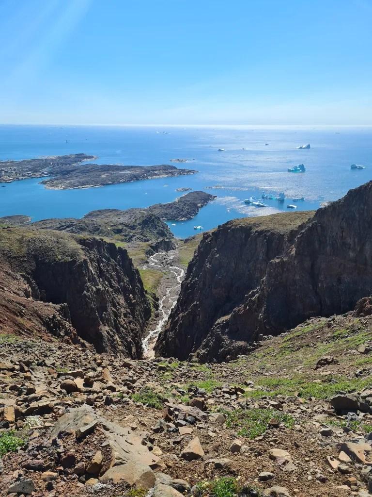 Randonnée Ile de Disko, Groenland