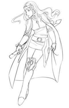 Alicia - Delia Sketch