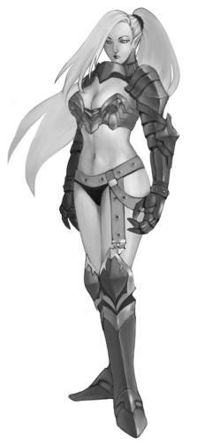 Alicia - Elf Concept Art