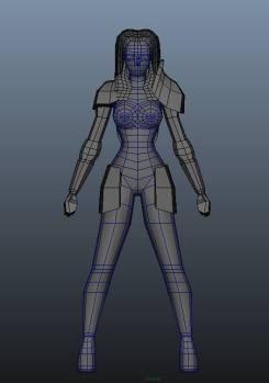 Yale - Delia Third 3D Model Pass