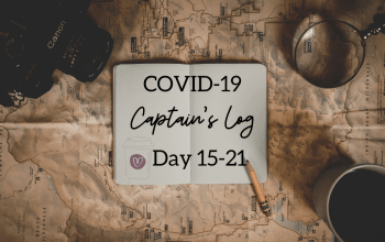 The Coronavirus Captain's Log: Day 15-21