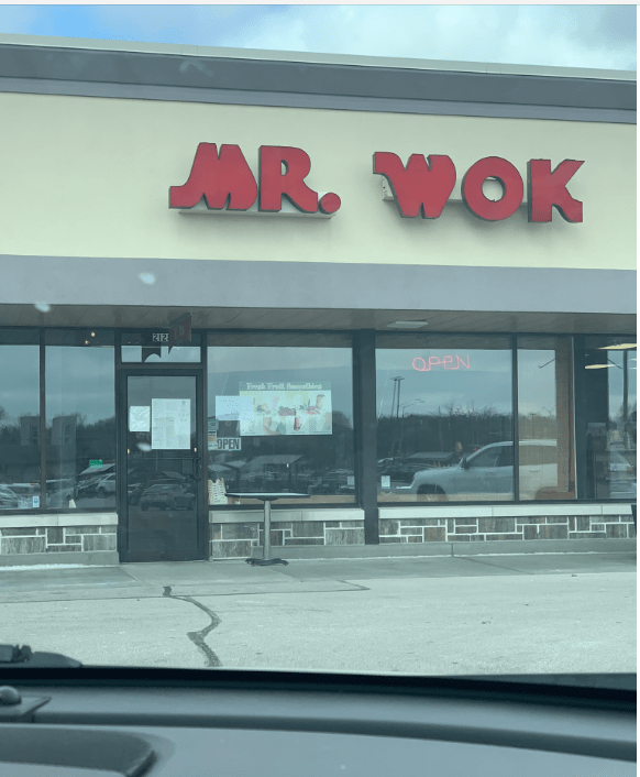 Mr. Wok Coronavirus Food Delivery