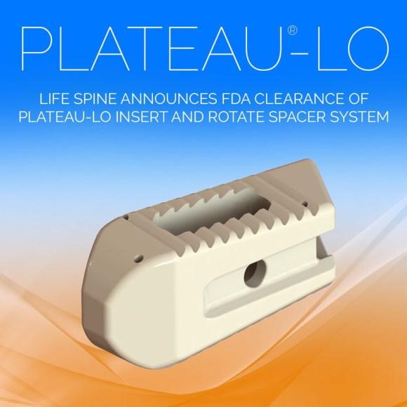 PLATEAU®-LO INSERT & ROTATE