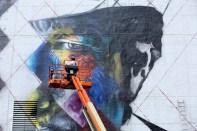 Bob Dylan Mural 1