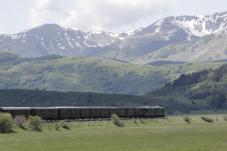Treno storico Sulmona - Roccaraso, Italia (Il treno ripercorre i binari della Transiberiana d'Italia e raggiunge i 1.268 metri d'altezza. Con sosta a Palena, Campo di Giove e Roccaraso vi immergerete nei boschi e nella vegetazione gli altipiani abruzzesi)