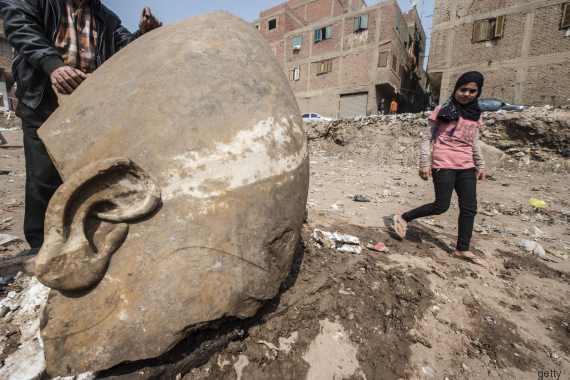 Egitto statua ramses