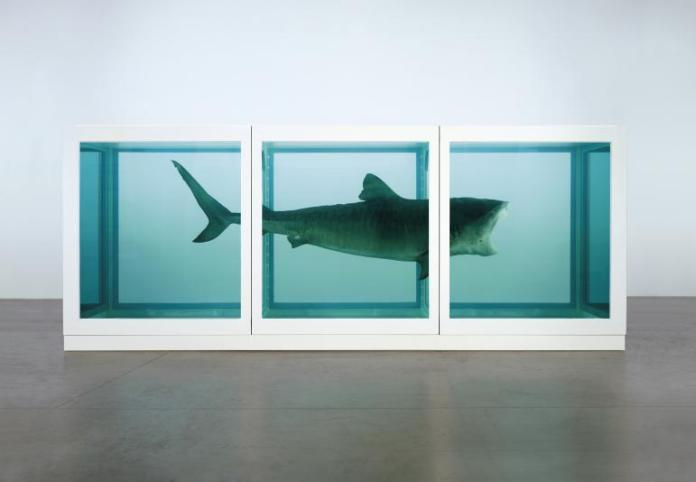The Physical Impossibility of Death in the Mind of Someone Living Damien Hirst